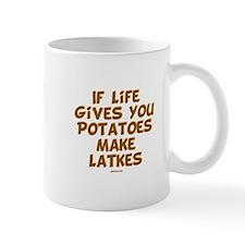 Make Latkes Chanukah Mug