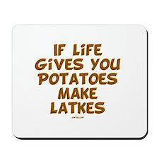 Make Latkes Chanukah Mousepad