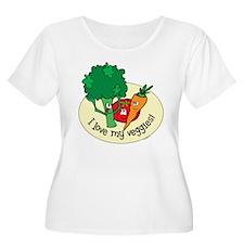 infantcreeper-lovemyveggies Plus Size T-Shirt