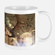 The dragon in the castle Mugs