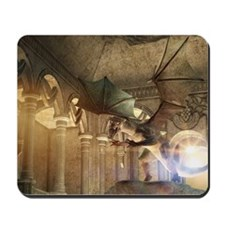 The dragon in the castle Mousepad