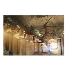 The dragon in the castle Postcards (Package of 8)