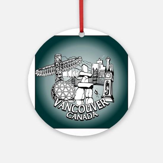 Vancouver Souvenir Ornament Keepsake Trinkets