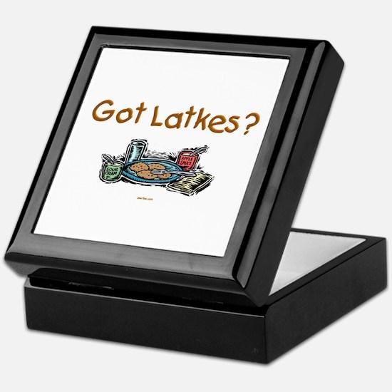 Got Latkes Chanukah Keepsake Box