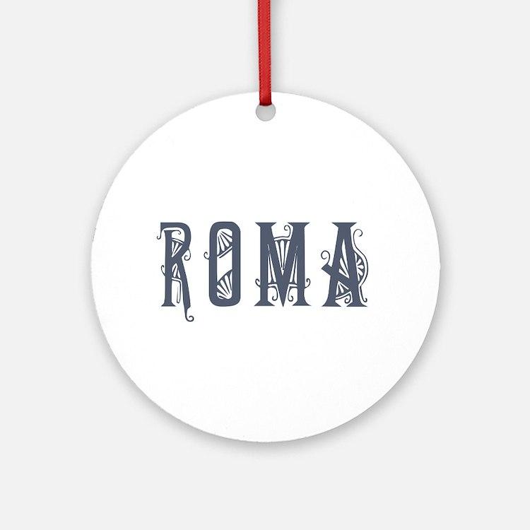 Roma 2 Ornament (Round)