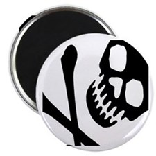 "CROSSBONES 2.25"" Magnet (10 pack)"