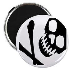"""CROSSBONES 2.25"""" Magnet (100 pack)"""