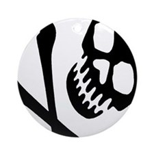 CROSSBONES Ornament (Round)