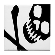 CROSSBONES Tile Coaster