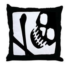 CROSSBONES Throw Pillow