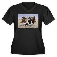 Frederic Remington Aiding a Comr Plus Size T-Shirt