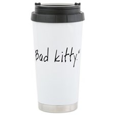 Cute Bad kitties Thermos Mug