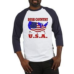 Bush Country USA Baseball Jersey