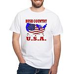 Bush Country USA White T-Shirt