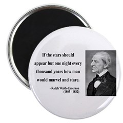 "Ralph Waldo Emerson 5 2.25"" Magnet (10 pack)"