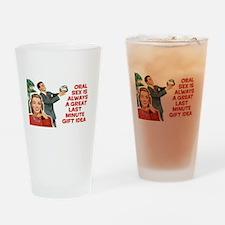 Last Min Gift Idea Drinking Glass