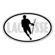 Lacrosse IRock Oval II Decal