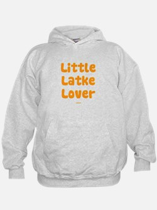 Little Latke Lover Chanukah Hoodie