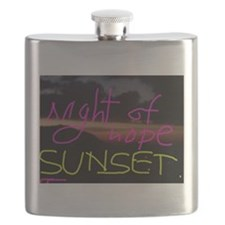 Night of Hope Sunset Flask