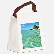 Maui Time Canvas Lunch Bag