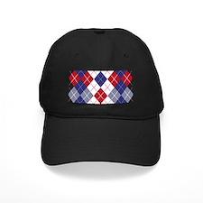 Patriotic Argyle Baseball Hat