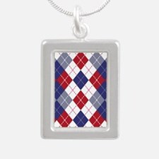 Patriotic Argyle Necklaces