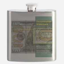 100 calendar Denom WM Flask