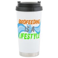 Cute I love birds Travel Mug