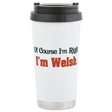 Unique Wales Travel Mug