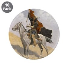 """Frederic Remington The Blank 3.5"""" Button (10 pack)"""