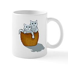 Kittens In Basket Mugs