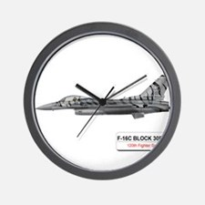 f16_fighting_falcon_block_30.png Wall Clock
