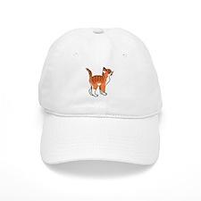 Orange Kitten Baseball Baseball Cap