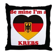 Krebs, Valentine's Day Throw Pillow