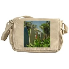 Surfboard Wall Messenger Bag