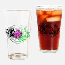 Unique Brain Drinking Glass