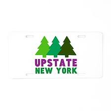 UPSTATE NEW YORK Aluminum License Plate