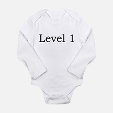 Cool Wow baby Long Sleeve Infant Bodysuit