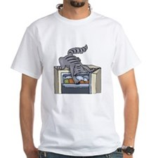 Cat In Refrigerator T-Shirt