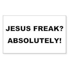Jesus Freak - Absolutely Decal