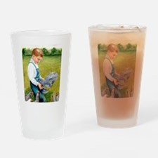 Feeding Time Drinking Glass