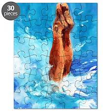 Funny Dive Puzzle