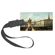 Italy's Piazza Vittorio Luggage Tag