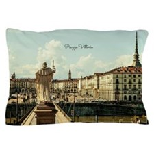 Italy's Piazza Vittorio Pillow Case