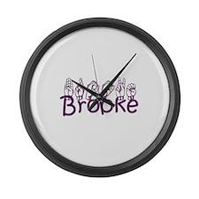 Brooke Large Wall Clock