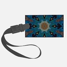 Damascus Art Mandala Luggage Tag