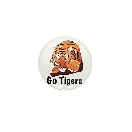Go Tigers Mini Button (10 pack)