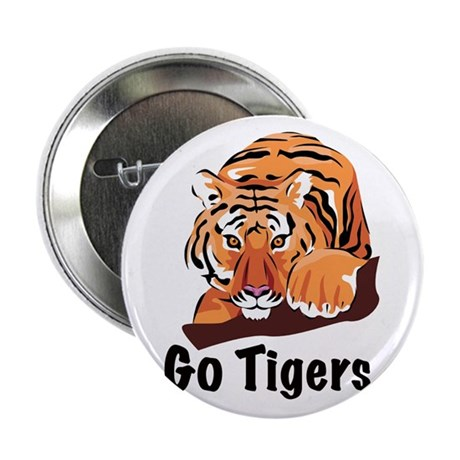 """Go Tigers 2.25"""" Button (10 pack)"""