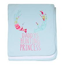 Hunting Princess baby blanket