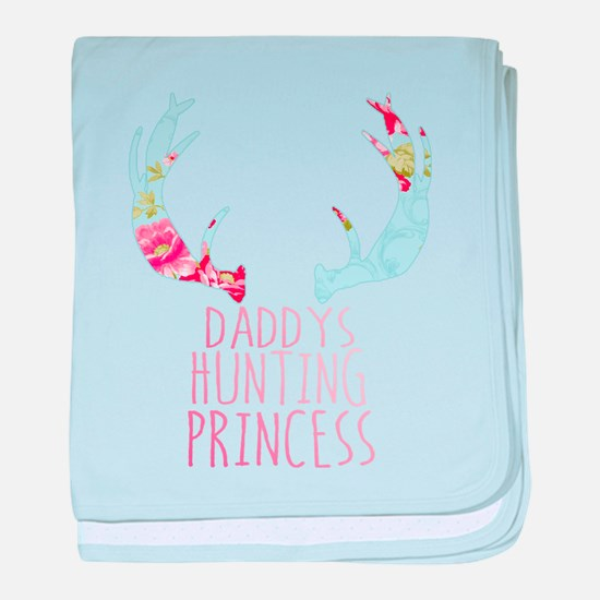 Hunting Princess baby blanket